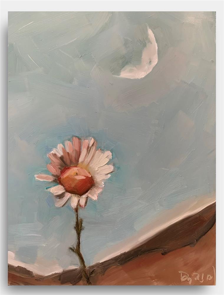 """""""834 Truce"""" original fine art by Jenny Doh"""