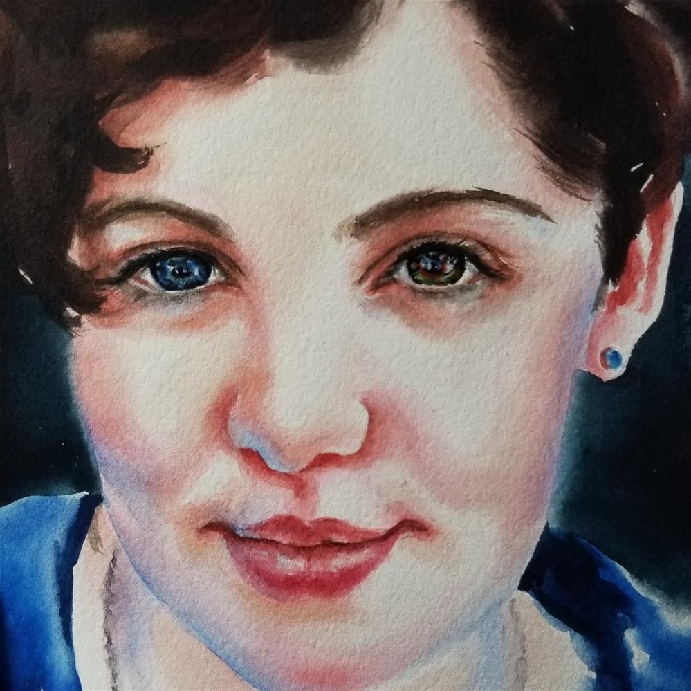 """Grace"" original fine art by Crystal Cook"