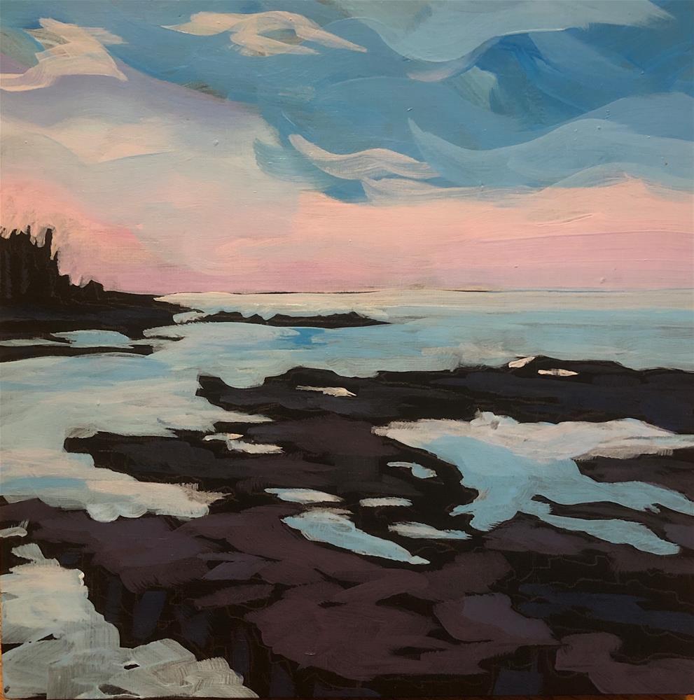 """On The Point"" original fine art by Kat Corrigan"