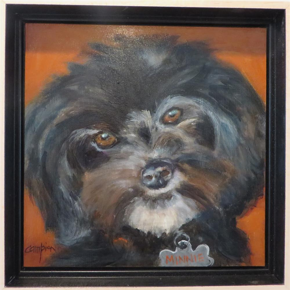 """""""799 Minnie"""" original fine art by Diane Campion"""