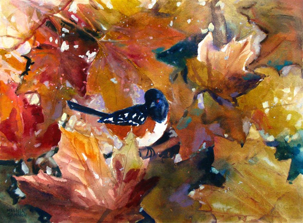 """AUtumn Harmonies"" original fine art by Melissa Gannon"
