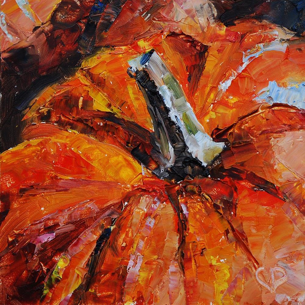 """The Great Pumpkin"" original fine art by Carol DeMumbrum"
