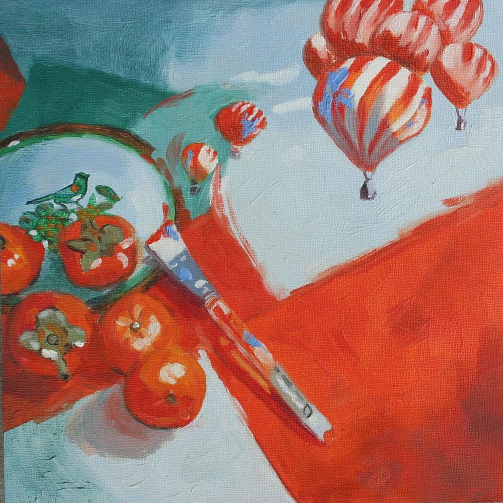 """Creative Liftoff"" original fine art by Anne Pekie"