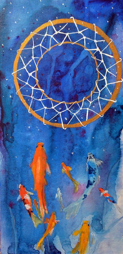 """Dreamcatcher"" original fine art by Kathleen Barnes"