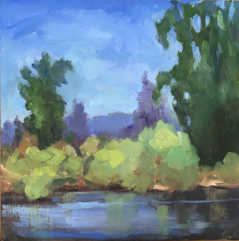 """Willamette Reflections"" original fine art by Victoria  Biedron"