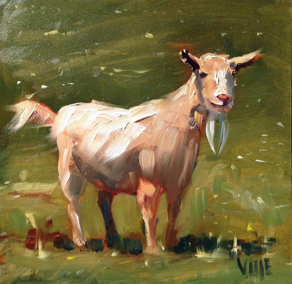 """""""#244 Lola"""" original fine art by Patty Voje"""