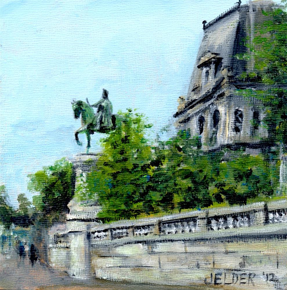 """Paris No. 6"" original fine art by Judith Elder"