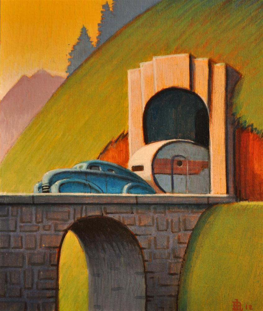 """Portal"" original fine art by Robert LaDuke"