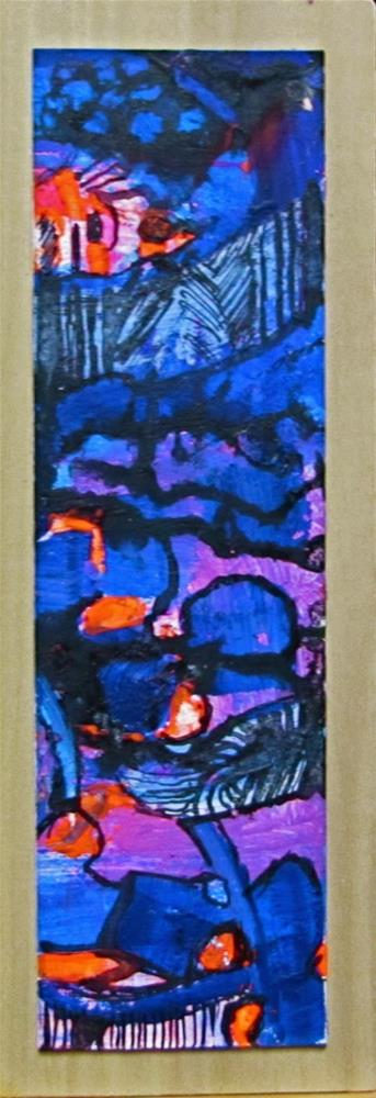 """""""A Crowded Room"""" original fine art by Christine Holzschuh"""