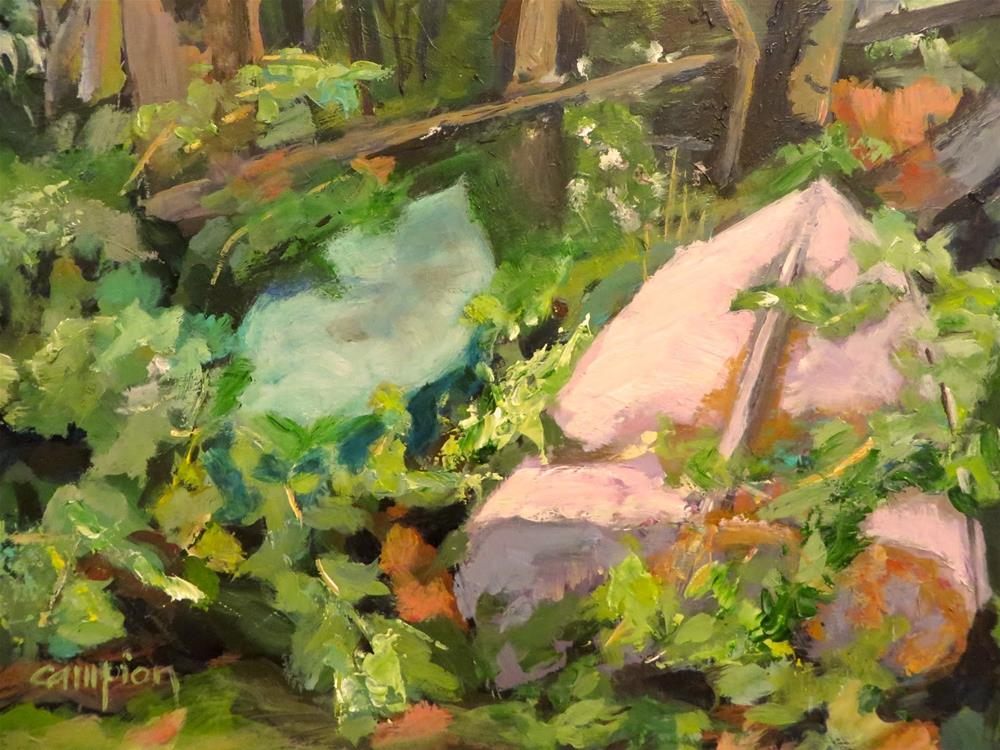 """""""596 Retired"""" original fine art by Diane Campion"""