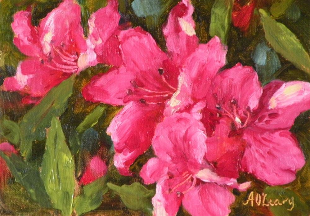 """Spring Splash"" original fine art by Alice O'Leary"