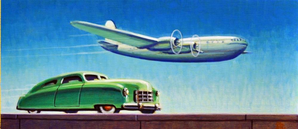 """""""Stratoliner"""" original fine art by Robert LaDuke"""
