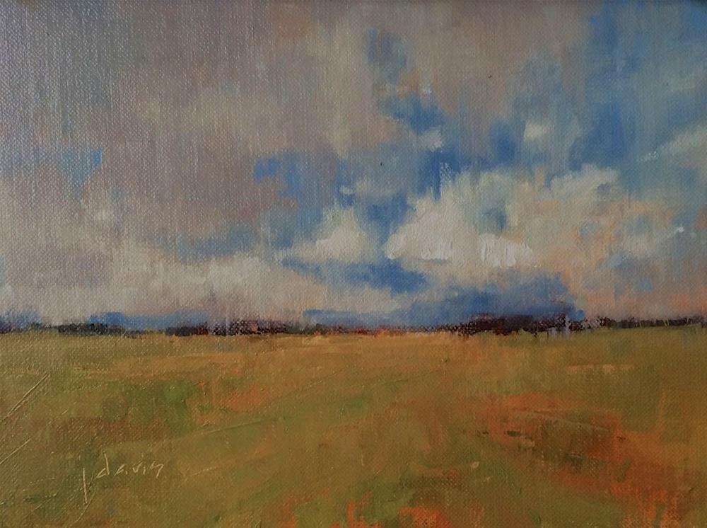 """Cloudcover"" original fine art by Julie Davis"