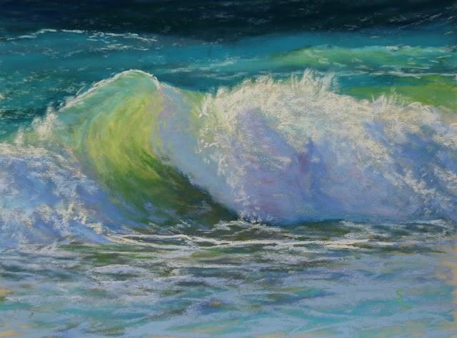 """Translucence"" original fine art by Sharon Lewis"
