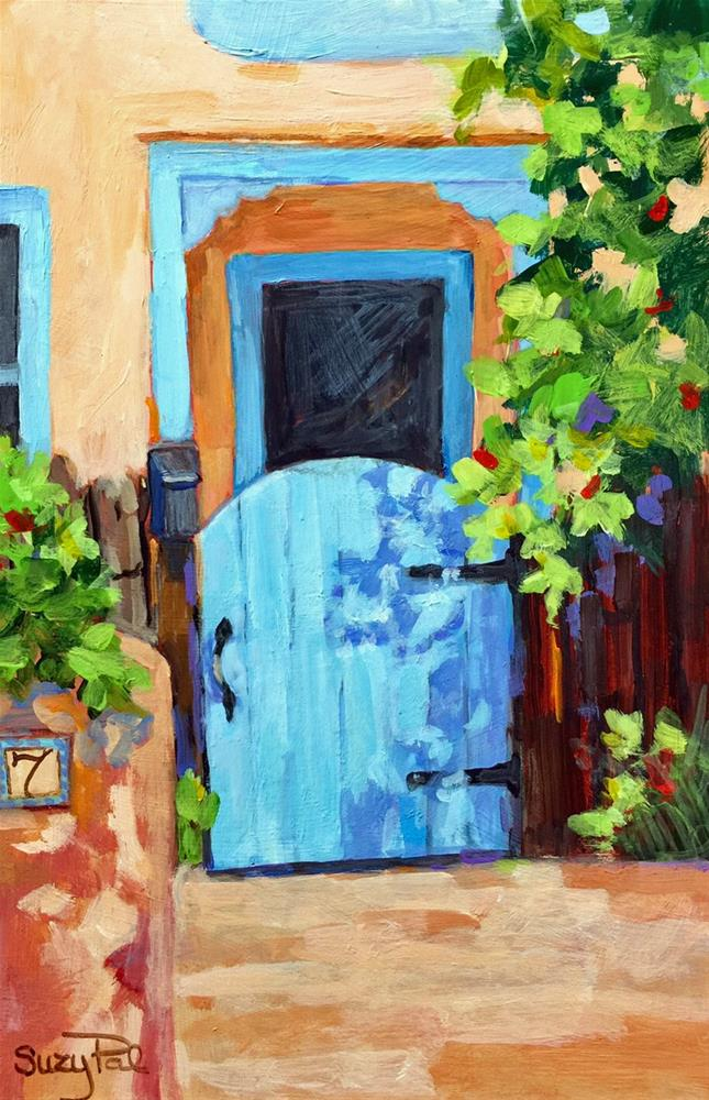 """Santa Fe #20"" original fine art by Suzy 'Pal' Powell"