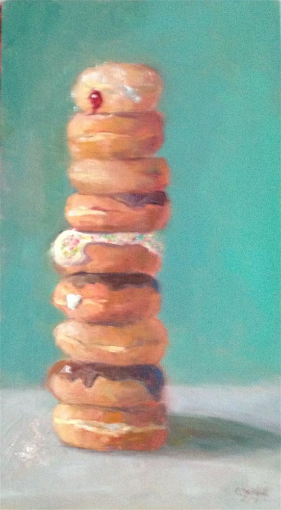 """balanced diet #2"" original fine art by Carol Josefiak"