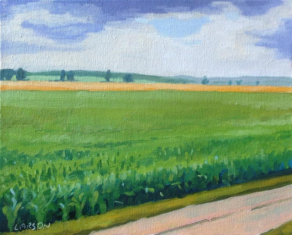 """""""Knee High by the 4th of July"""" original fine art by Eric Larson"""