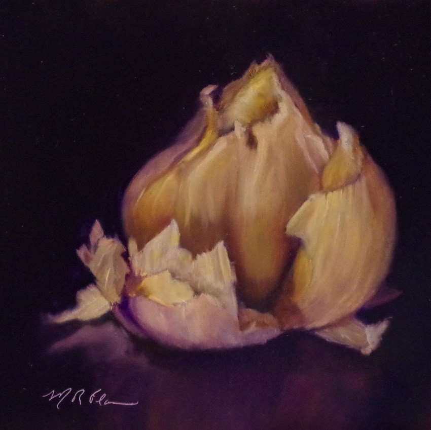 """Garlic"" original fine art by Marilyn R. Place"