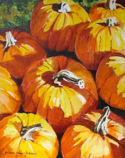 """October First"" original fine art by JoAnne Perez Robinson"