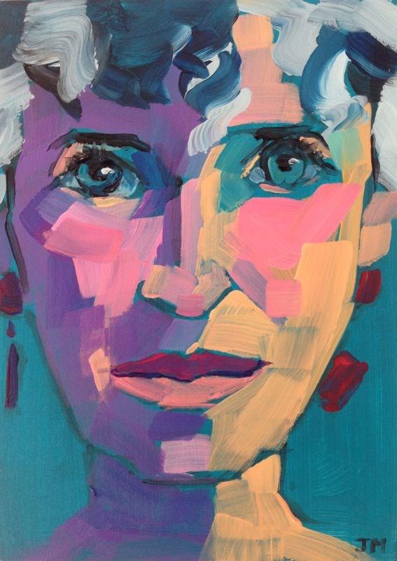 """Fort Lauderdale Portrait Workshop"" original fine art by Jessica Miller"