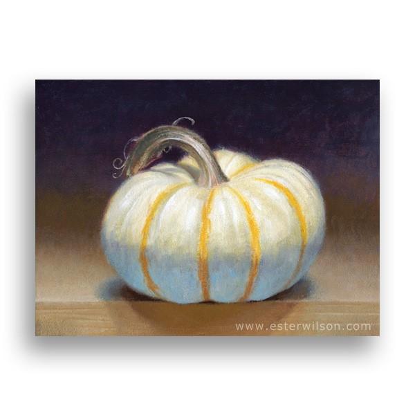 """""""Pumpkin"""" original fine art by Ester Wilson"""