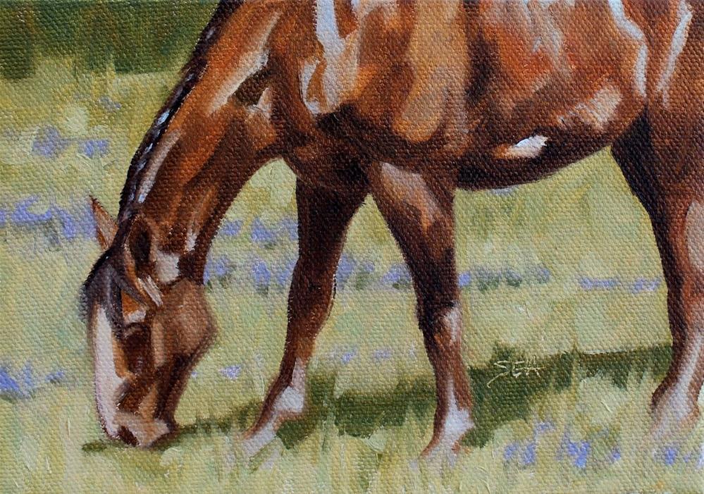 """Meadow IV"" original fine art by Susan Ashmore"