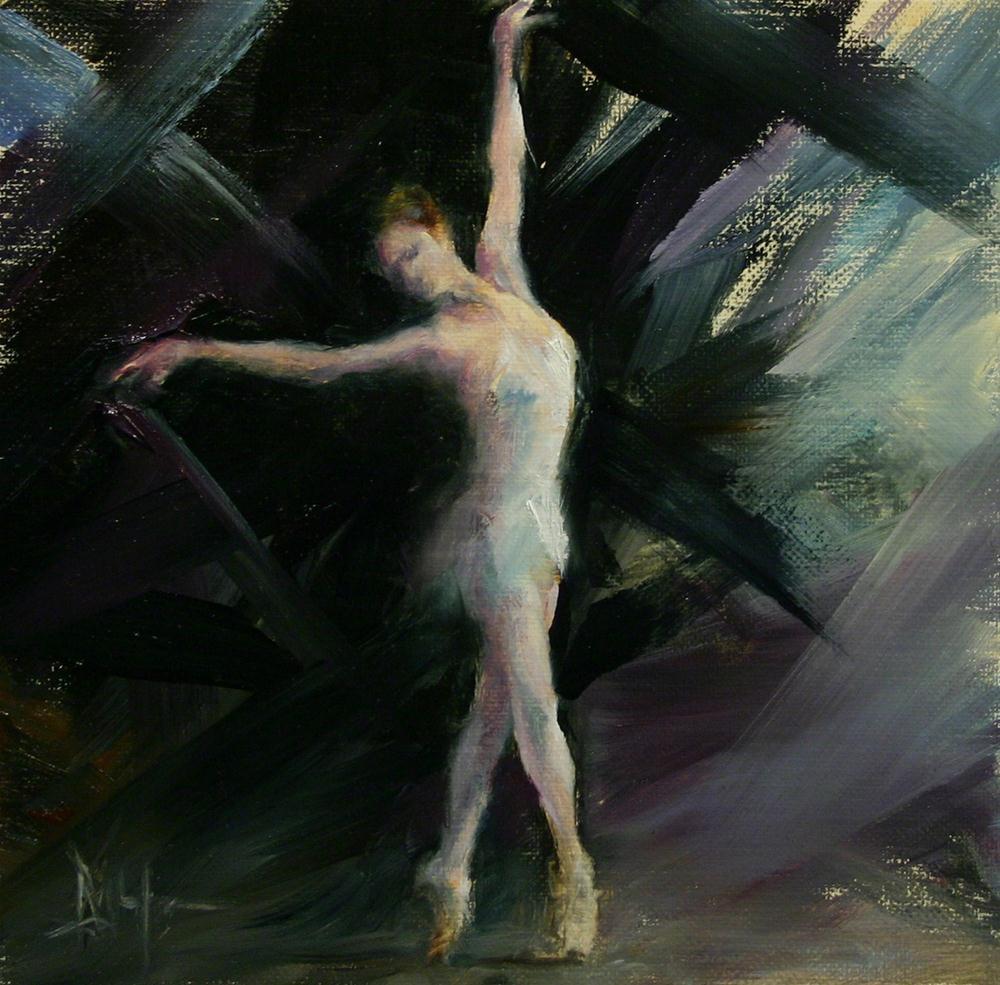"""Dance 4, Expression"" original fine art by Ralph Grady James"