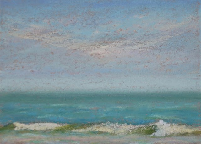 """Beach Study #2"" original fine art by Sharon Lewis"