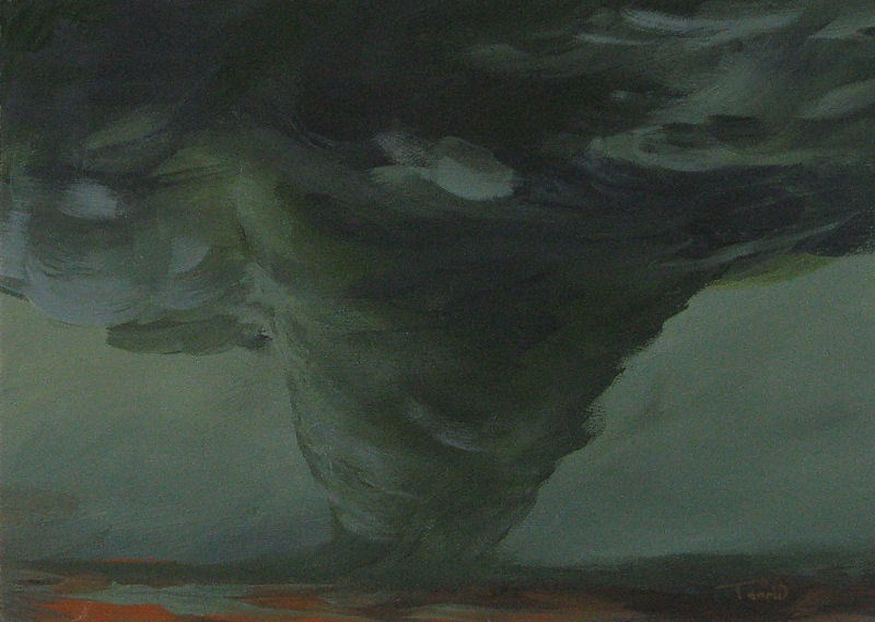 """Tornado V"" original fine art by Torrie Smiley"