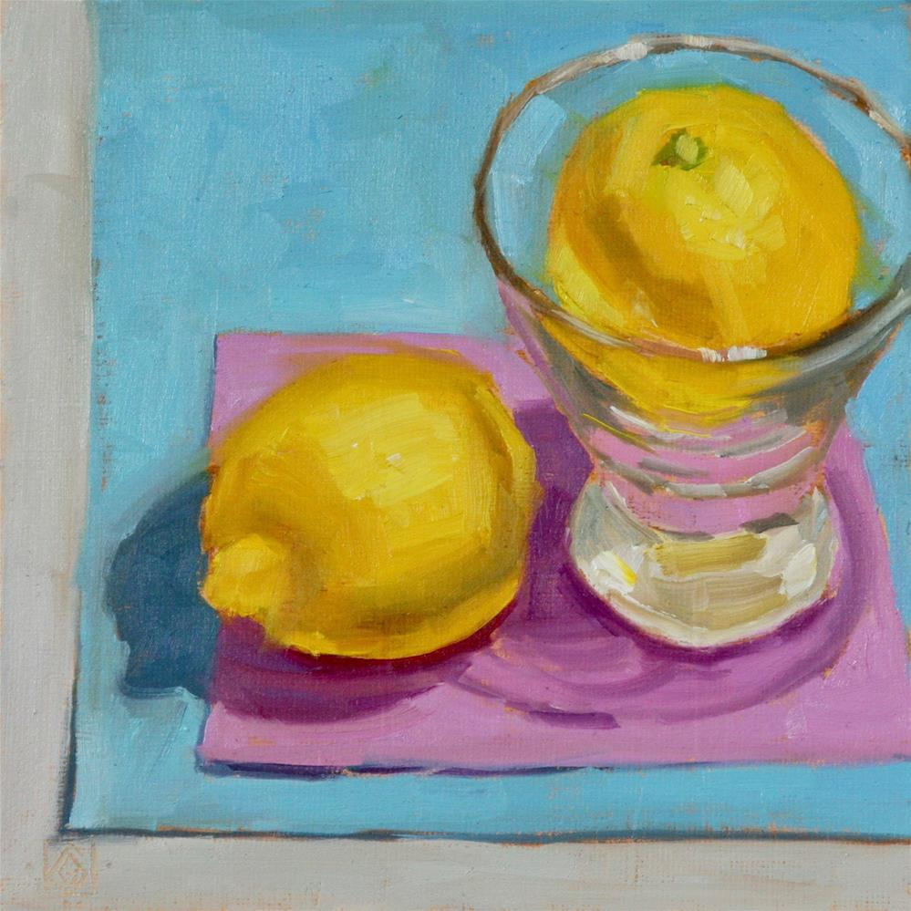"""When Life Hands You Lemons"" original fine art by Carol Granger"