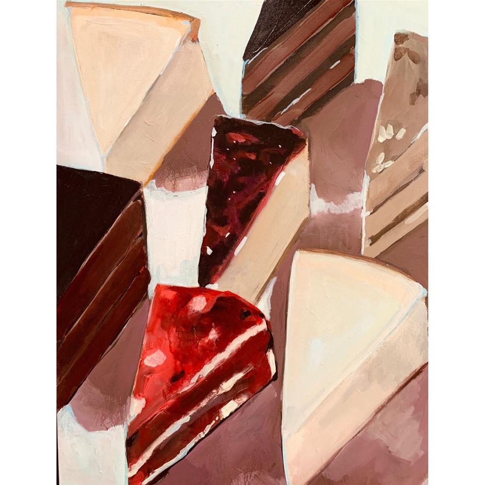 """""""731 Slices"""" original fine art by Jenny Doh"""