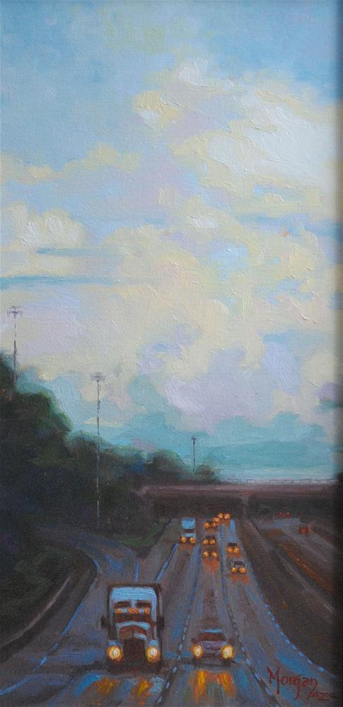 """Somewhere Outside Opelika"" original fine art by Cecile W. Morgan"
