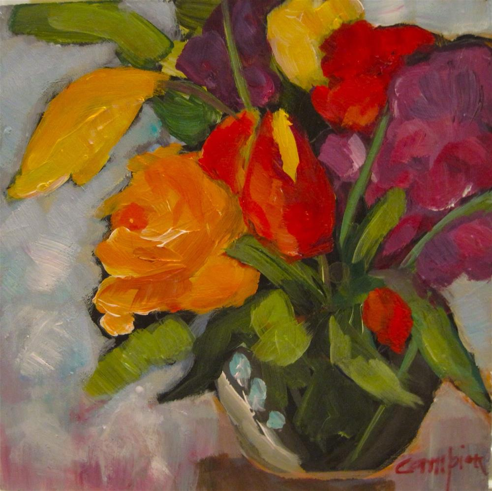 """""""291. Celebrating Another Year"""" original fine art by Diane Campion"""