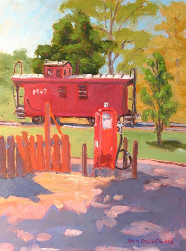 """No. 7"" original fine art by Rhett Regina Owings"