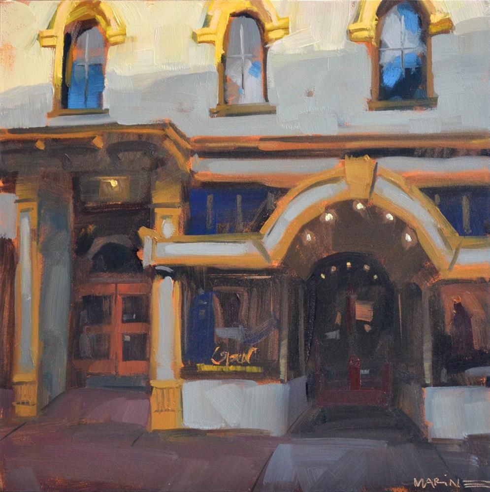 """A Touch of Light"" original fine art by Carol Marine"