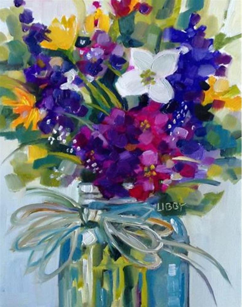 """Superlative"" original fine art by Libby Anderson"