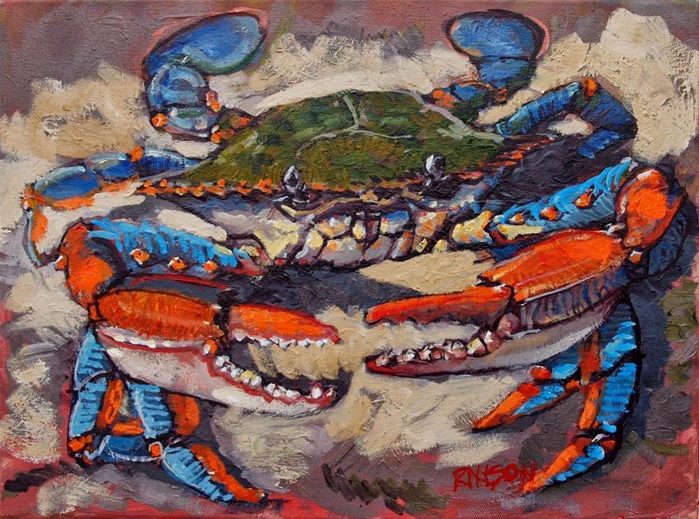 """The Democrab"" original fine art by Rick Nilson"