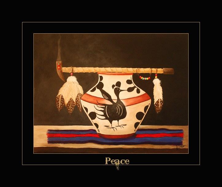 """""""Peace"""" original fine art by Sunny Williams"""