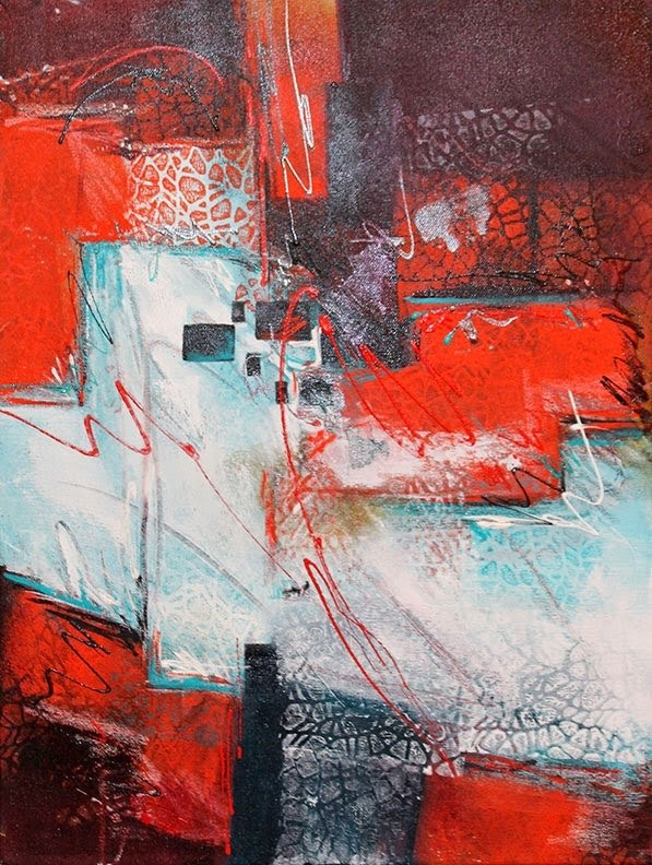 """Red Flannel Shirt"" original fine art by Kara Butler English"
