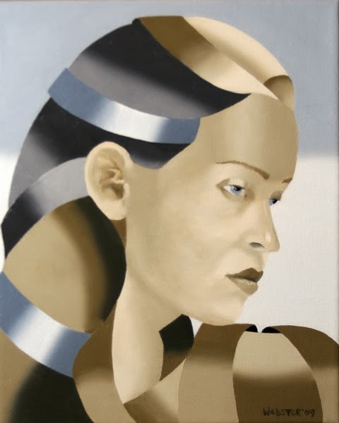 """""""Mark Adam Webster - The Bronze Age Abstract Oil Painting Series #4"""" original fine art by Mark Webster"""