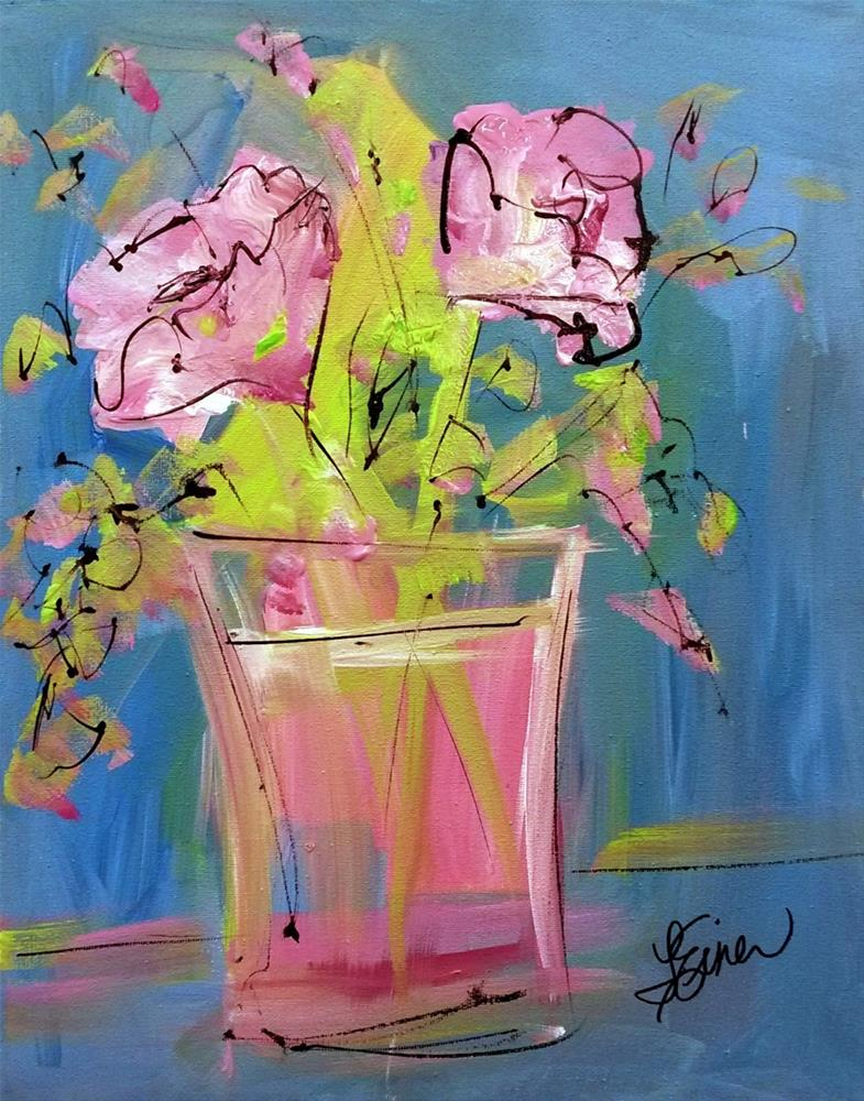 """My Cup Runneth Over"" original fine art by Terri Einer"
