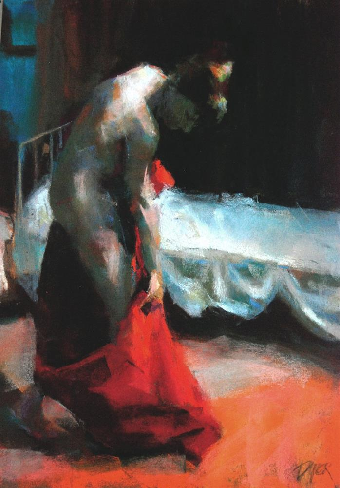 """Night Time"" original fine art by Margaret Dyer"