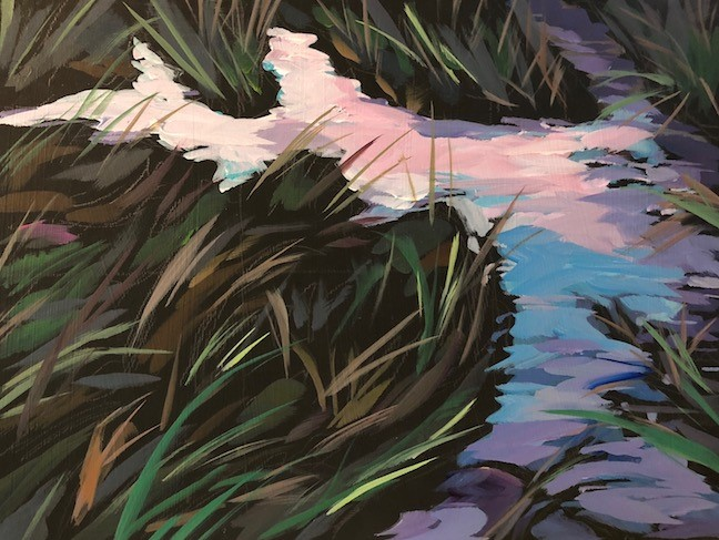 """Marsh Light"" original fine art by Kat Corrigan"