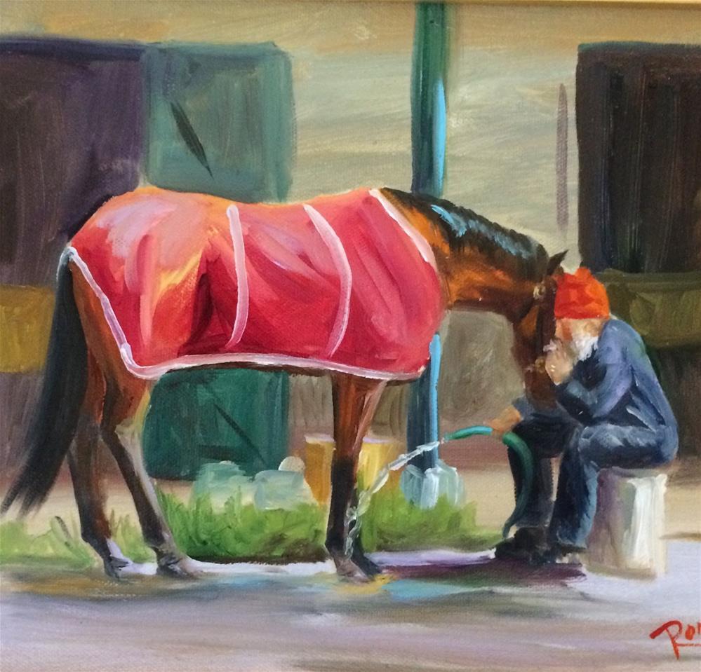 """Therapy"" original fine art by Carol Roark"