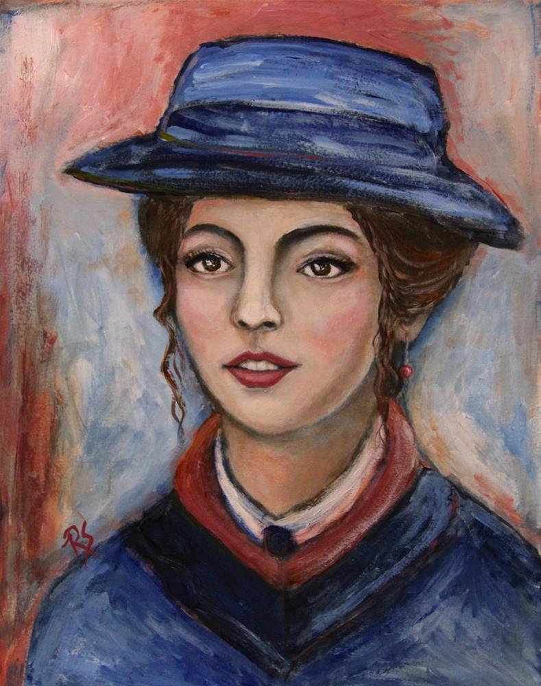 """Sofia"" original fine art by Roberta Schmidt ArtcyLucy"