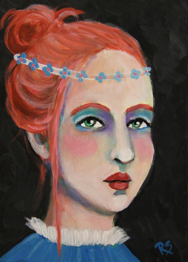 """""""Mercy"""" original fine art by Roberta Schmidt"""