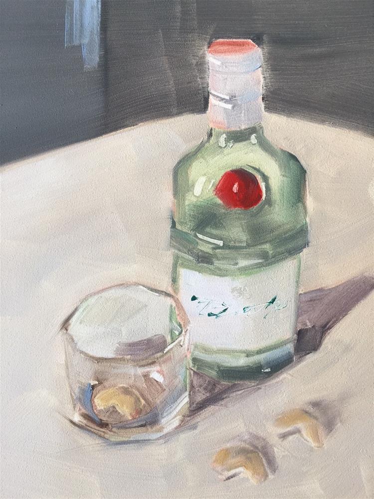 """462 Bar and Hurt"" original fine art by Jenny Doh"