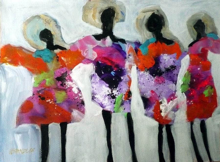 """Singers 11089"" original fine art by Nancy Standlee"