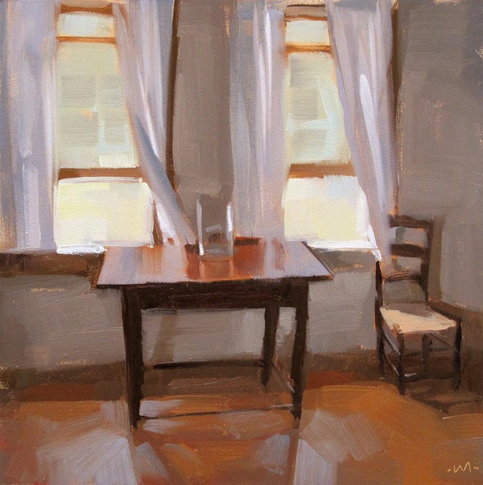 """A Quiet Room"" original fine art by Carol Marine"