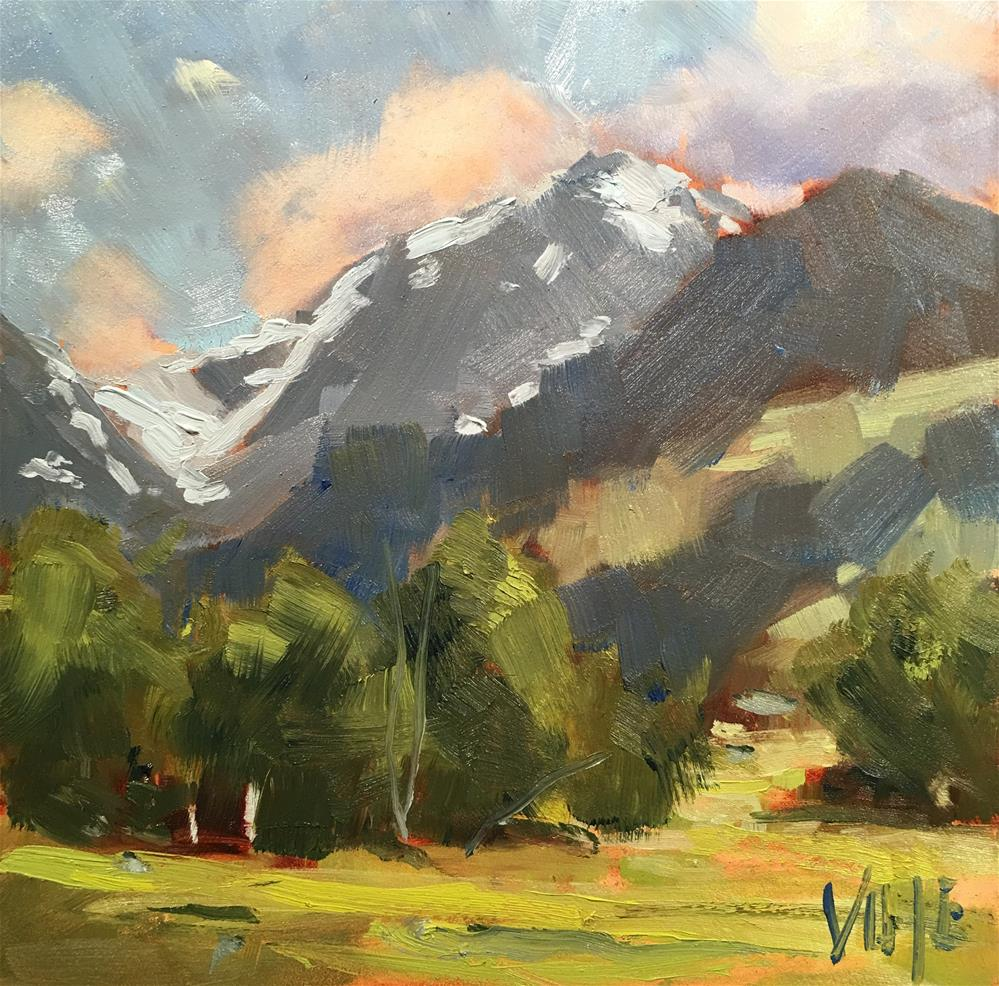 """#321 Colorado"" original fine art by Patty Voje"